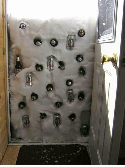 beer snow summer science funny