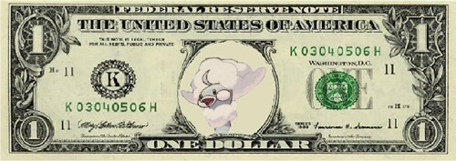 Pokémon dollar bill money mega altaria - 8282203904