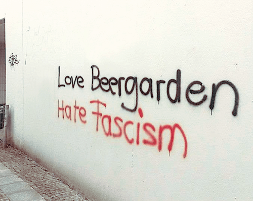 beer,fascism,graffiti,funny