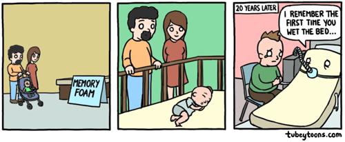 memory kids puns beds web comics - 8282340352