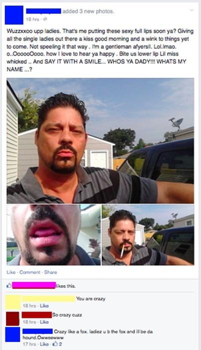 gross creepy cringe facebook - 8282354944