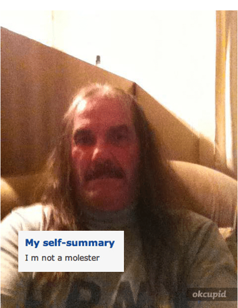 creepy cringe ok cupid