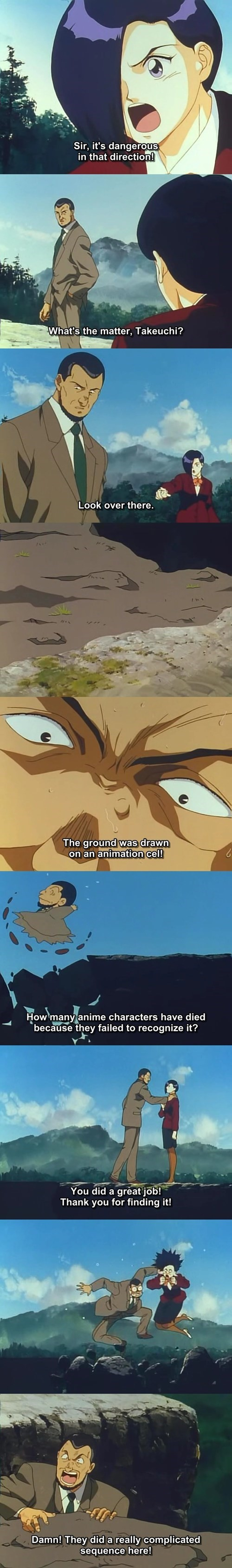 fourth wall anime Blue Seed Omake - 8282740736