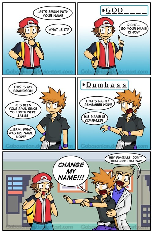 Pokémon naming web comics - 8282749440