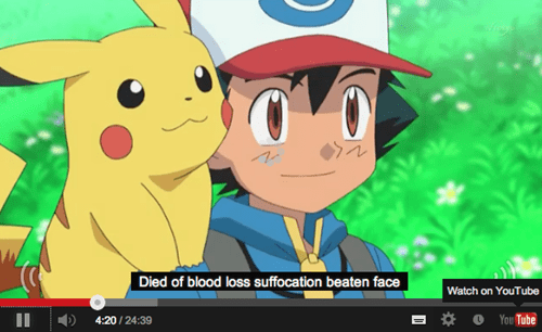 ash youtube pikachu subtitles - 8283200256