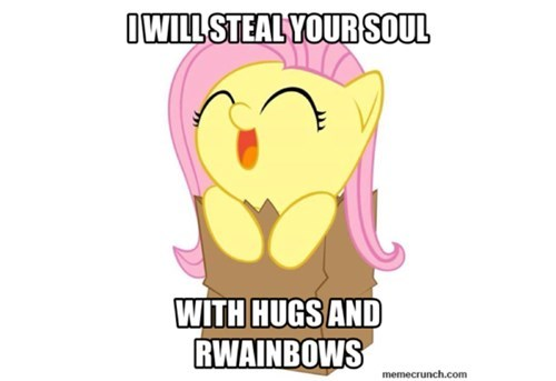 fluttershy squee - 8283485184