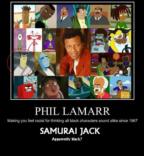 phil lamarr,voices,funny
