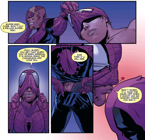 deadpool Straight off the Page Spider-Man - 8283938816