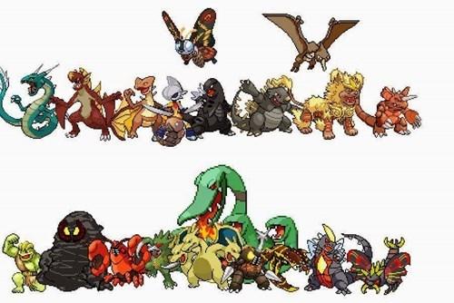 Pokémon,godzilla