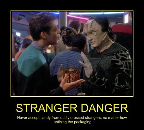 candy,stranger danger,hellraiser,Star Trek