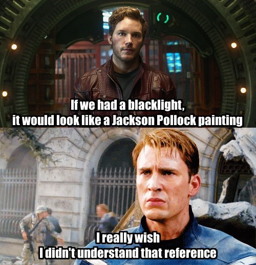 guardians of the galaxy captain america reference - 8284345344