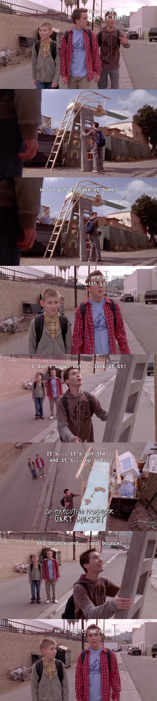 malcolm in the middle,swimming pool