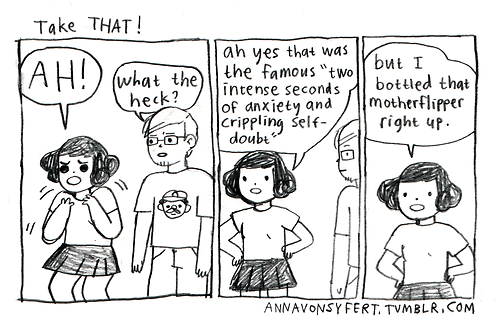 yikes emotions anxiety web comics - 8284489216