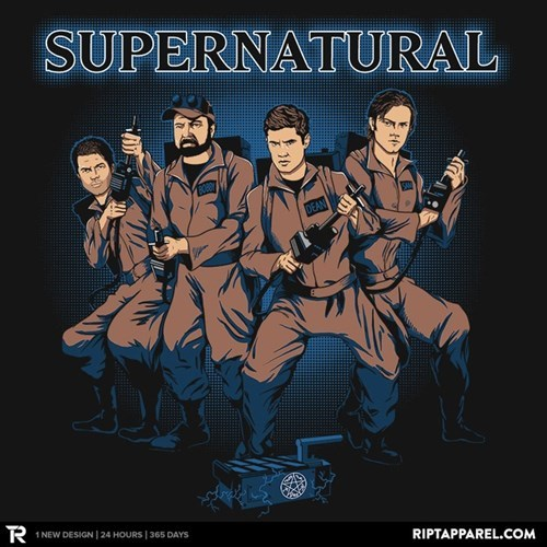 tshirts,Supernatural,for sale,Ghostbusters