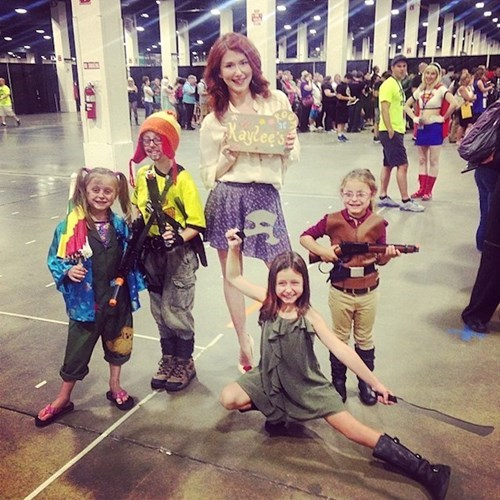 Kaylee cosplay Firefly