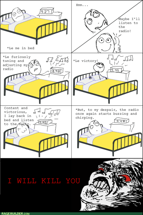 radio rage bed