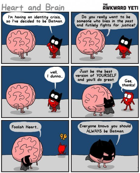 heart brains batman web comics - 8284613632