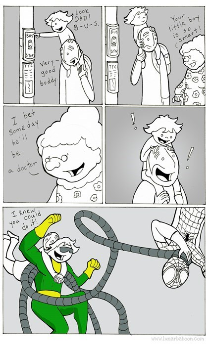 doc ock,kids,comics,parenting,web comics
