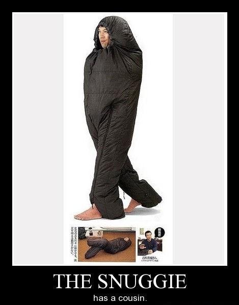 wtf snuggie sleeping bag funny - 8284708096