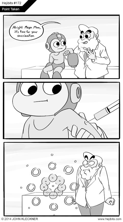 anti-virus,mega man,web comics