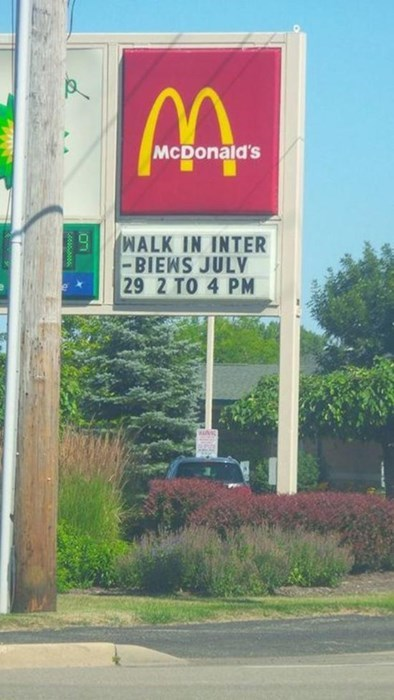 McDonald's,spelling