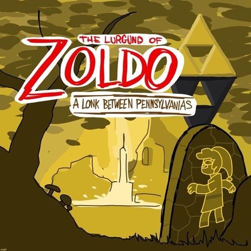 zoldo lonk pennsylvania liberty bell zelda a link between worlds - 8284790016