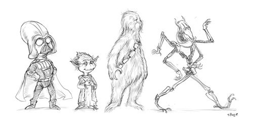 Fan Art,star wars,doctor seuss