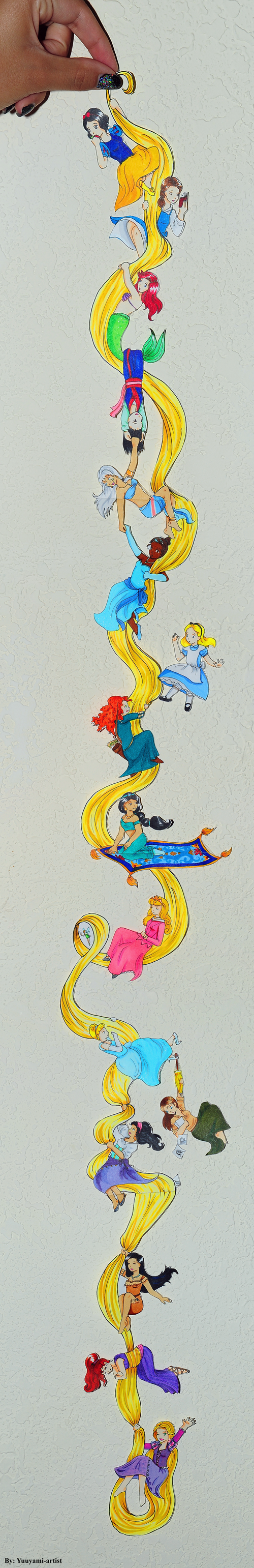 hair disney disney princesses Fan Art - 8284824832