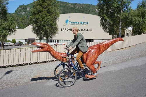 design DIY bike dinosaurs - 8285036800