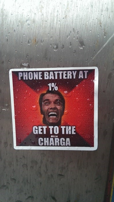 charger phone puns Arnold Schwarzenegger failbook g rated