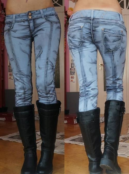 jeans mind blown pants cartoons g rated win - 8285051904