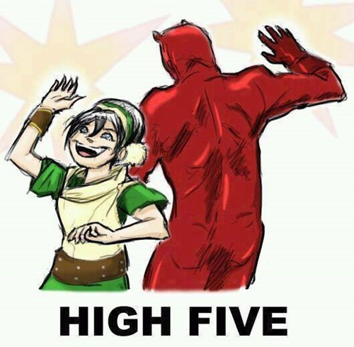 crossover toph beifong Avatar the Last Airbender cartoons Avatar daredevil - 8285079296