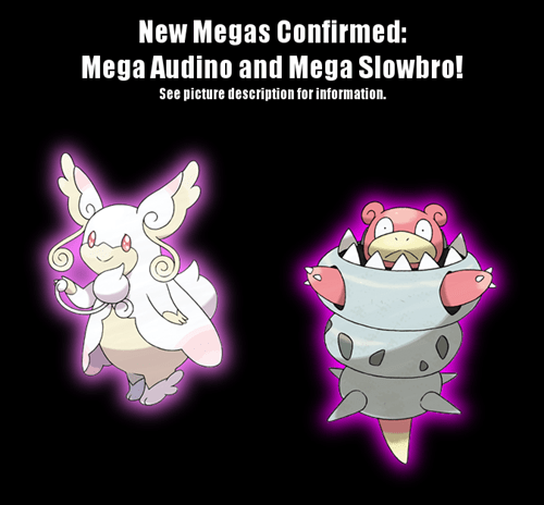 mega audino,Pokémon,mega slowbro,Video Game Coverage