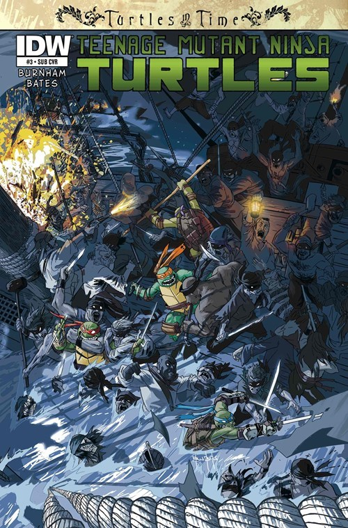 TMNT Straight off the Page pirates - 8285413632