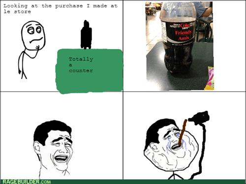 forever alone,coca cola