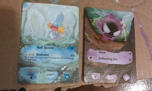 Pokémon,TCG,pokemon cards,painting
