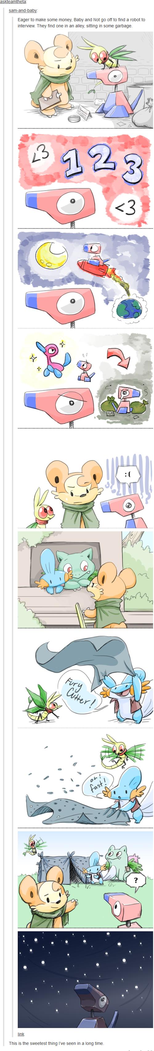 Pokémon,porygon,web comics