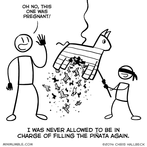 pinata,sick truth,web comics