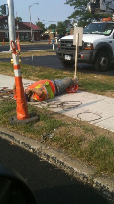 monday thru friday nap construction sidewalk - 8285768960