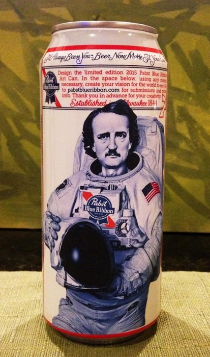 beer art edgar allen poe awesome funny - 8285774336