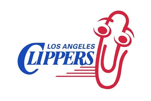 los angeles clippers nba clippy basketball microsoft steve ballmer - 8285801216