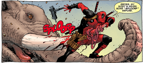deadpool,Straight off the Page