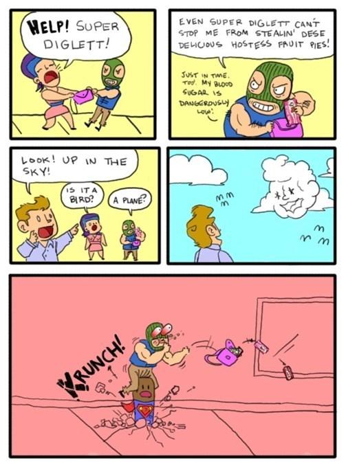 diglett,diglett wedesday,web comics