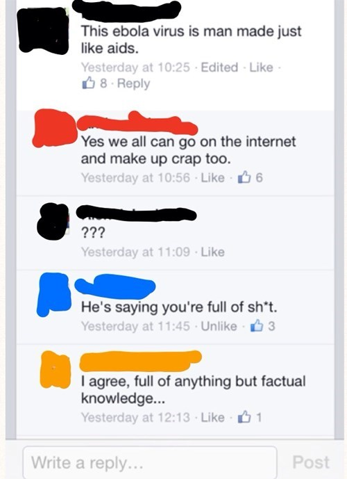 facepalm,ebola,health,true facts