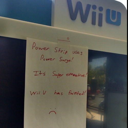 gamestop,wii U,power strip