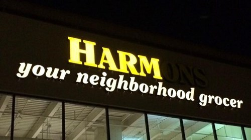 grocery stores store signs - 8286410496