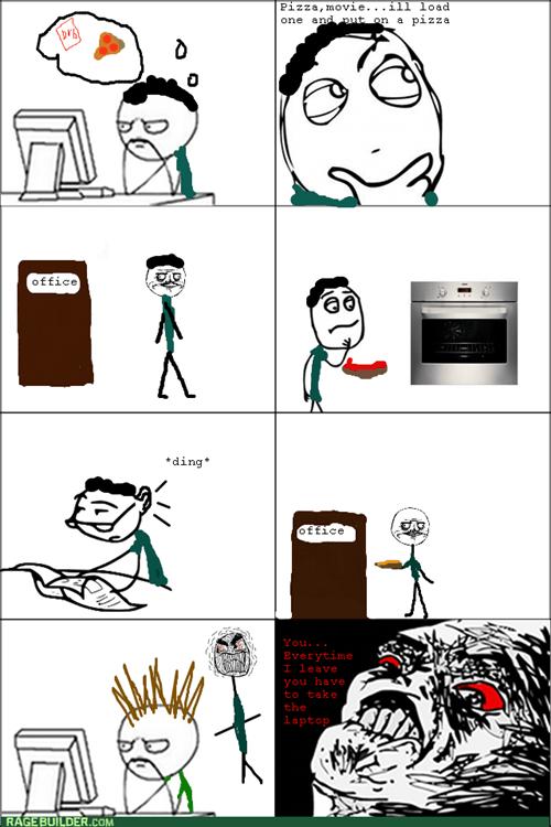 pizza,me gusta,computer
