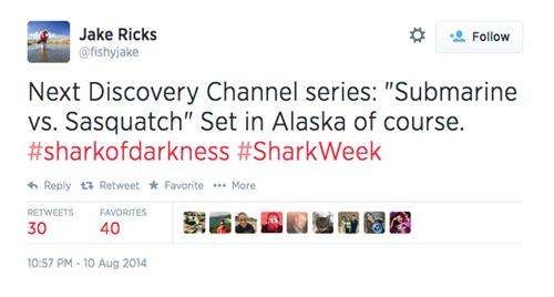 twitter shark week true facts - 8286414080