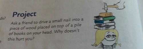 physics school wtf experiment textbook funny - 8286497792