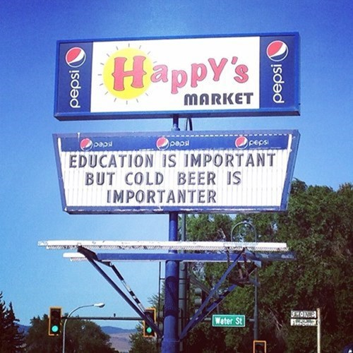 beer signs education - 8286592768